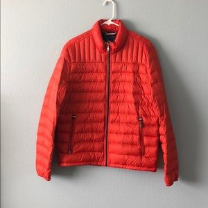 Tommy Hilfiger puffer jacket Orange